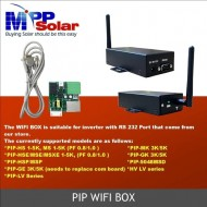 WI-FI box -  tablou monitorizare online invertoare PIP - MppSolar, Effekta, Axpert