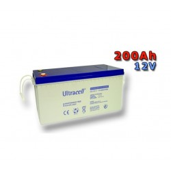 Baterie AGM Ultracell UCG200 - 12V / 200Ah