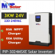 Invertor MPPSolar 3024MSXE, 3kW / 24V cu regulator MPPT 60A