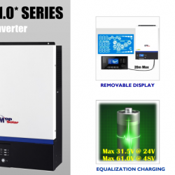 Invertor MPPSolar 5048GK, 5 kW - 48V , MPPT 80A, PV input 450V