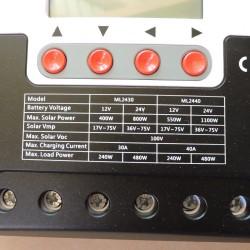 Regulator solar tip MPPT, 40A, 550 /1100W