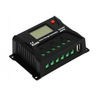 Regulator solar PWM 20A  cu ecran LCD