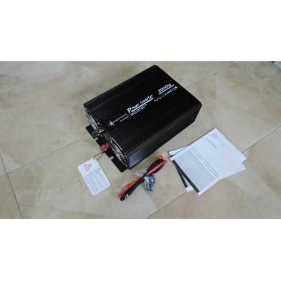 Invertor  12V - 2000W/4000W, sinus modificat