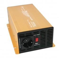 Invertor Sinus Pur, 12V - 1000W / 2000W